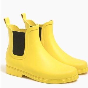 J. Crew Chelsea Rain boots